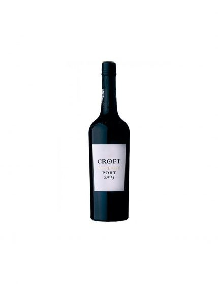 A Bottle of Croft Vintage 2003 37.5cl Port