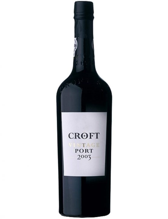 A Bottle of Croft Vintage 2003
