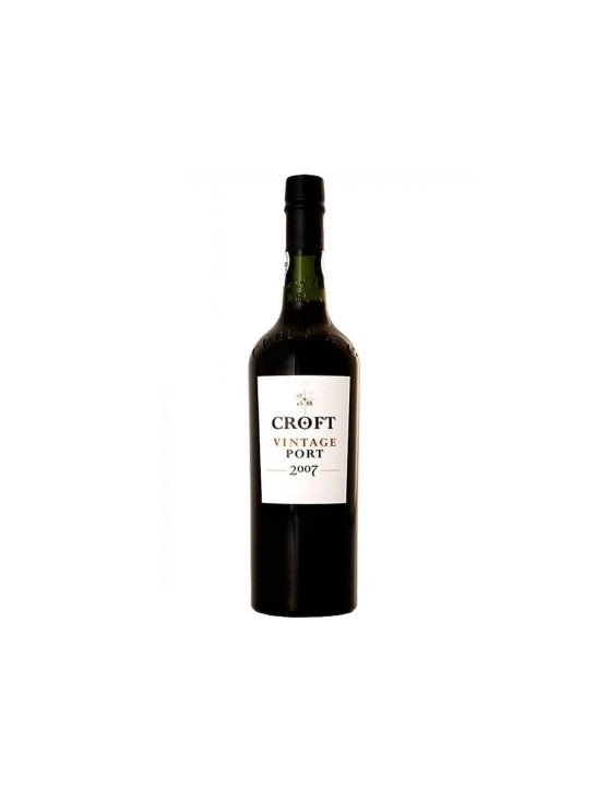 A Bottle of Croft Vintage 2007 37.5cl Port