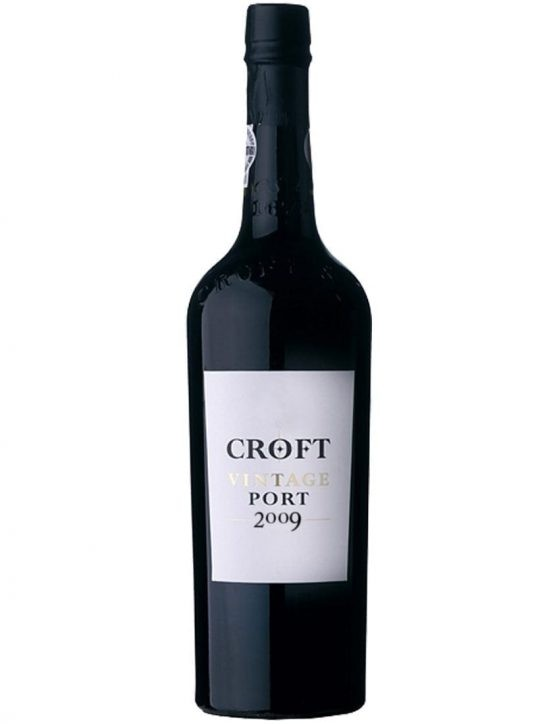 A Bottle of Croft Vintage 2009 Port