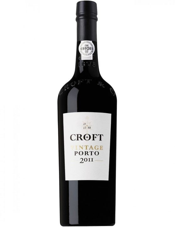 A Bottle of Croft Vintage 2011 Port