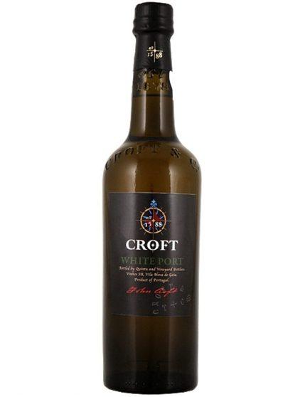 Une bouteille de Croft Blanc Porto