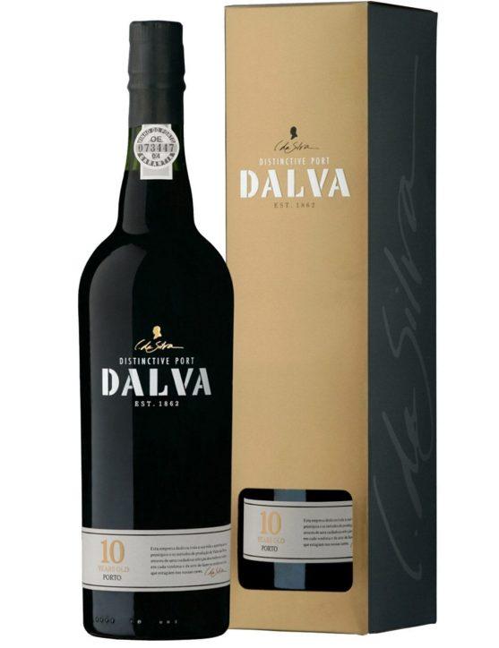 Une bouteille de Dalva Tawny 10 Ans Porto