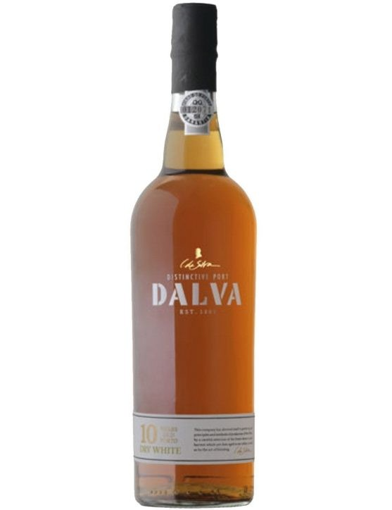 A Bottle of Dalva 10 Years Dry White Port