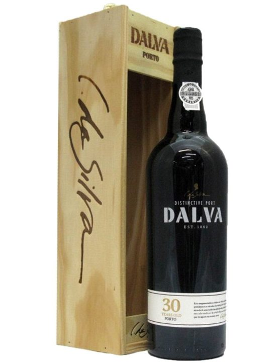 A Bottle of Dalva Tawny 30 Years Port