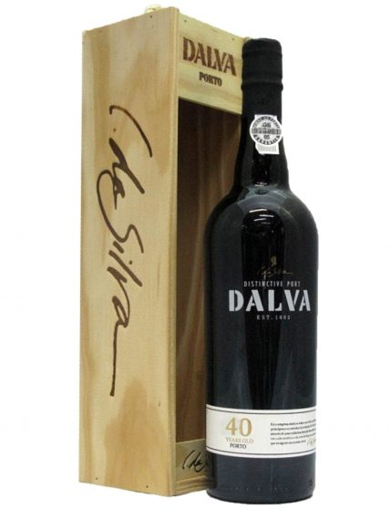 A Bottle of Dalva Tawny 40 Years Port