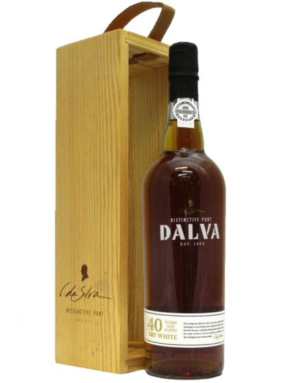 A Bottle of Dalva 40 Years Dry White Port