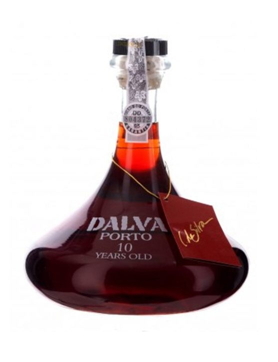 A Bottle of Dalva Decanter 10 Years Port