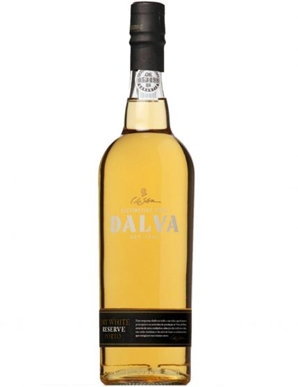 A Bottle of Dalva Dry White Reserve Port