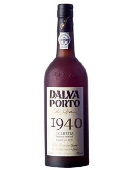 A Bottle of Dalva Harvest 1940 Port
