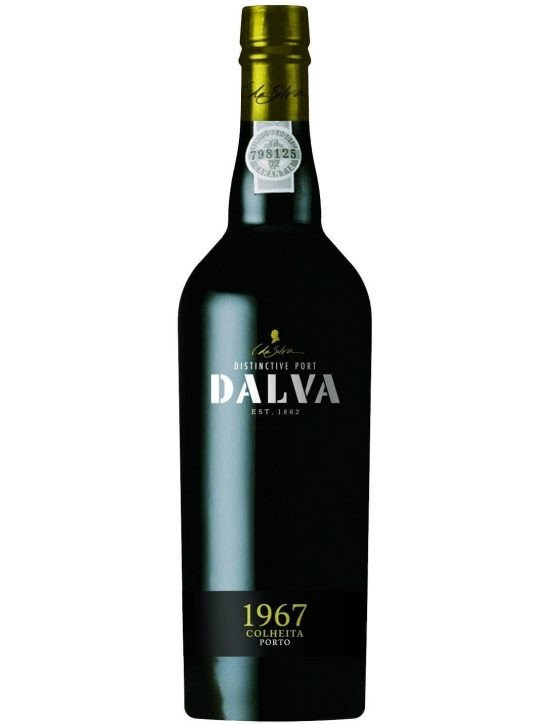 A Bottle of Dalva Harvest 1967 Port