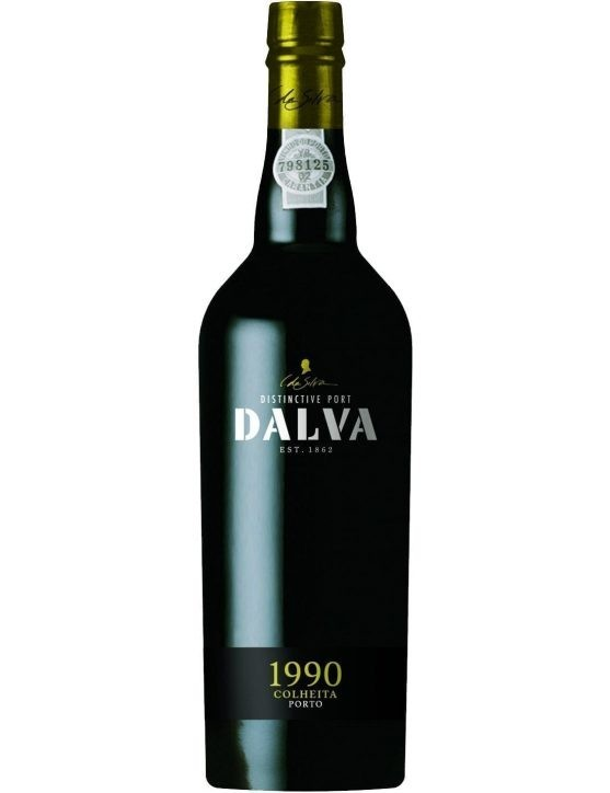 A Bottle of Dalva Harvest 1990 Port
