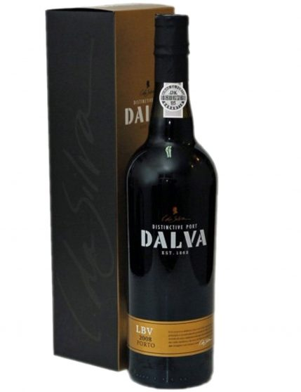 A Bottle of Dalva LBV 2008 Port