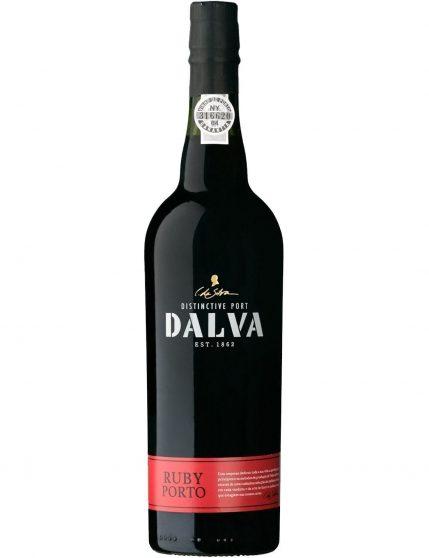 Une bouteille de Dalva Ruby Porto