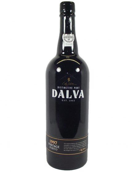 A Bottle of Dalva Vintage 1997 Port