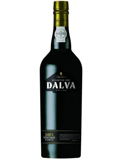 A Bottle of Dalva Vintage 2003 Port