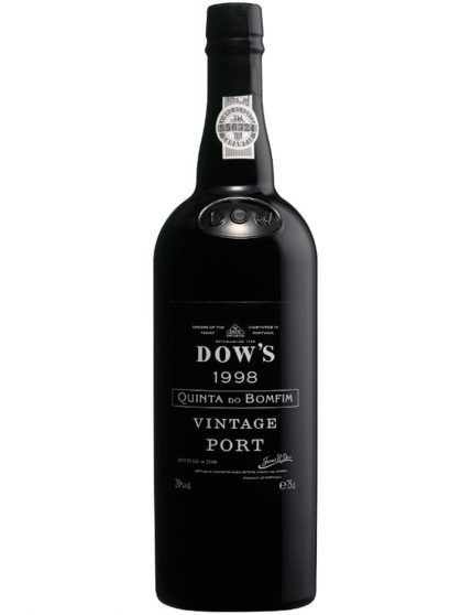 A Bottle of Dow's Quinta do Bomfim Vintage 1998