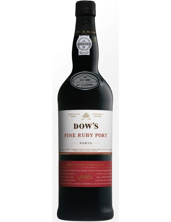 A Bottle of Dow's Fine Ruby