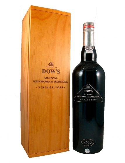 A Bottle of Dow's Quinta Sra. da Ribeira Vintage Double Magnum 2013