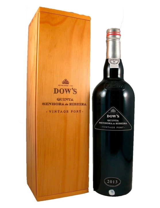 A Bottle of Dow's Quinta Sra. da Ribeira Vintage Double Magnum 2013