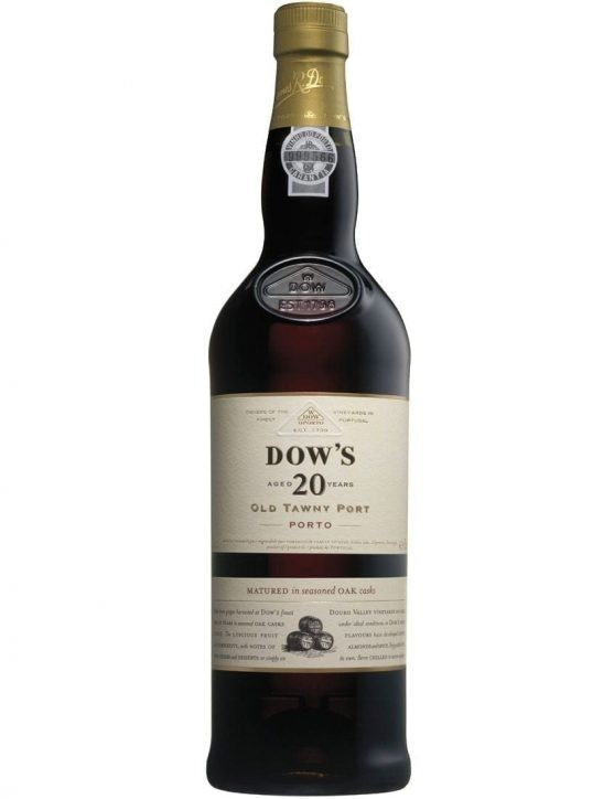 A Bottle of Dow's Tawny 20 Years