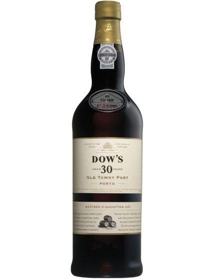Une bouteille de Dow's Tawny 30 Ans