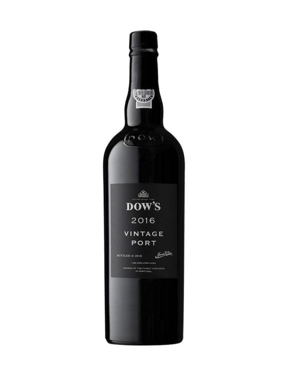 A Bottle of Dow's Vintage 2016 Port Wine