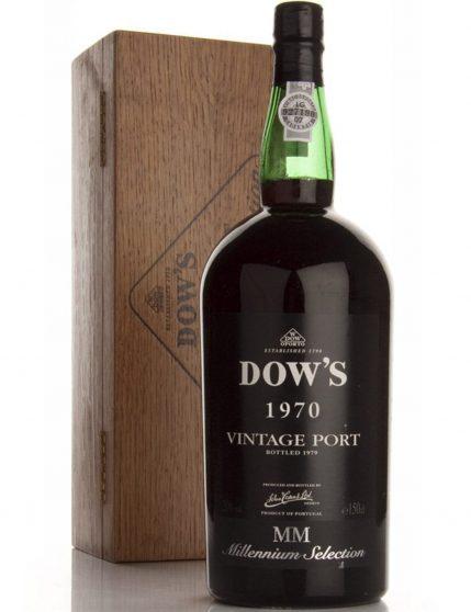 A Bottle of Dow's Vintage Magnum 1970 Port Wine
