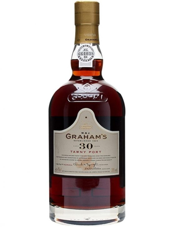 A Bottle of Engraving Graham's 30 Years