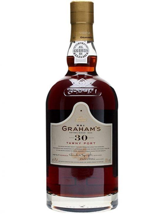Eine Flasche Gravieren Graham's Tawny 30 Jahre