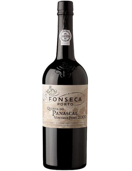 Une bouteille de Fonseca Quinta do Panascal Vintage 2005