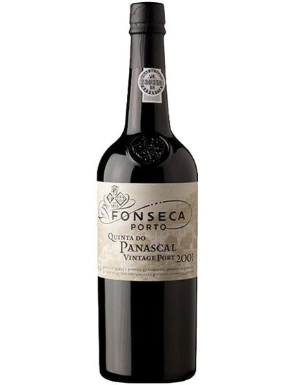 A Bottle of Fonseca Quinta do Panascal Vintage 2001