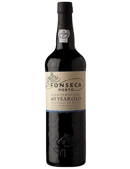 Une bouteille de Fonseca Tawny 40 Ans