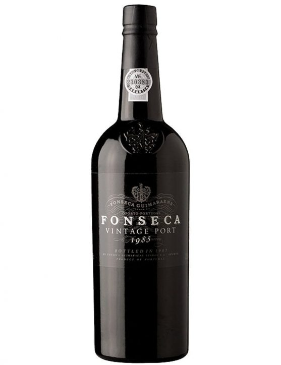 A Bottle of Fonseca Vintage 1985