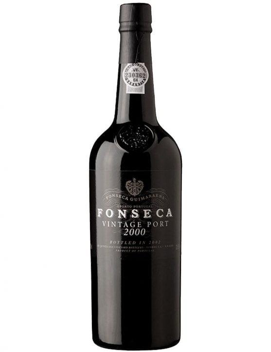 Eine Flasche Portwein Fonseca Vintage 2000