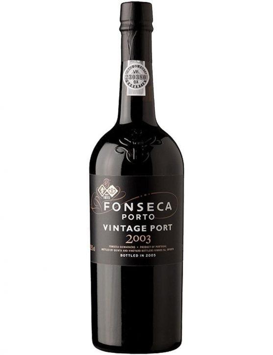 Eine Flasche Fonseca Vintage 2003