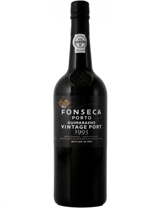 Eine Flasche Fonseca Guimaraens Vintage 1995