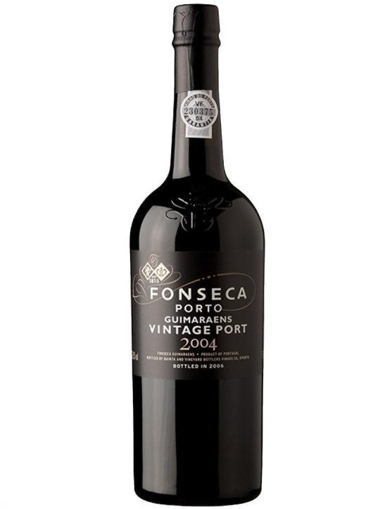 A Bottle of Fonseca Guimaraens Vintage 2004