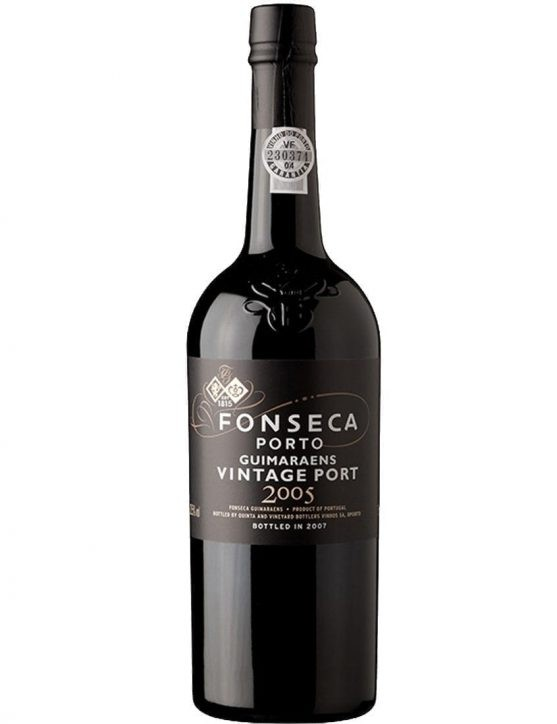A Bottle of Fonseca Guimaraens Vintage 2005