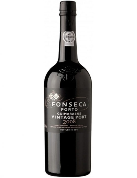 A Bottle of Fonseca Guimaraens Vintage 2008