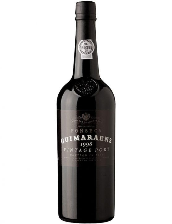 A Bottle of Fonseca Guimaraens Vintage 1998