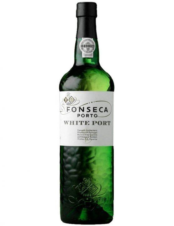 Eine Flasche Fonseca Weißer Portwein