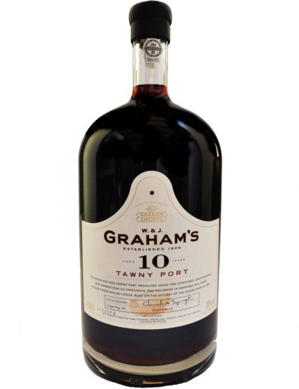 A Bottle of Graham's Tawny 10 Years 4.5l