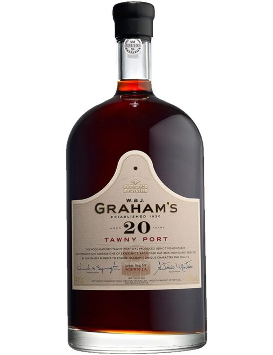 A Bottle of Graham's Tawny 20 Years 4.5L