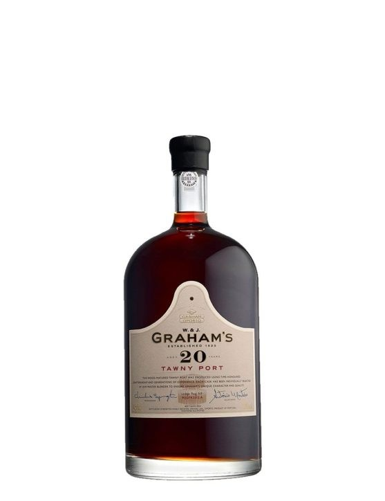 A Bottle of Graham's Tawny 20 Years 20 cl