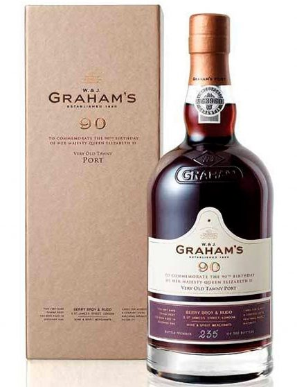 A Bottle of Graham's 90 Years