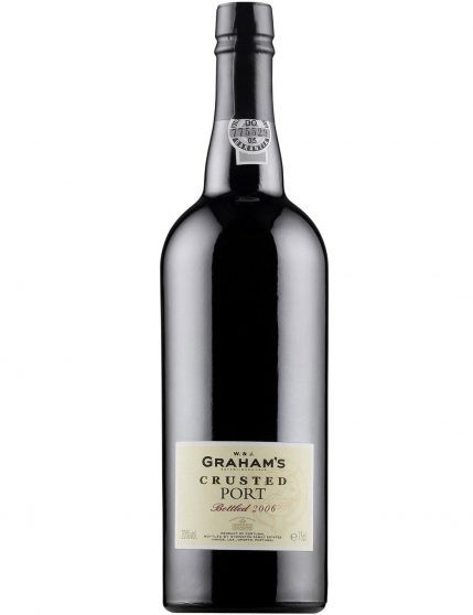 A Bottle of Graham's Crusted 2006 Port Wine