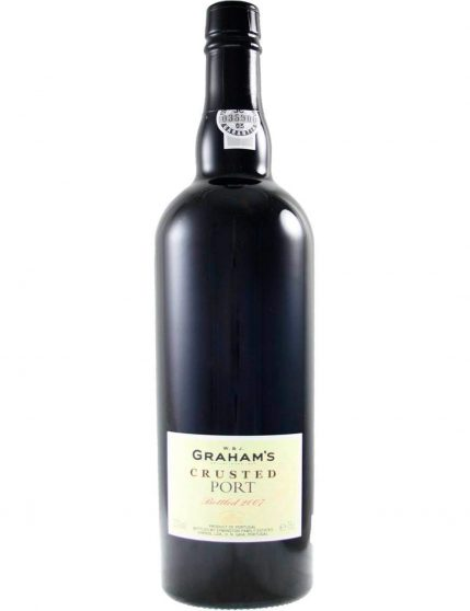 A Bottle of Graham's Crusted 2007 Port Wine