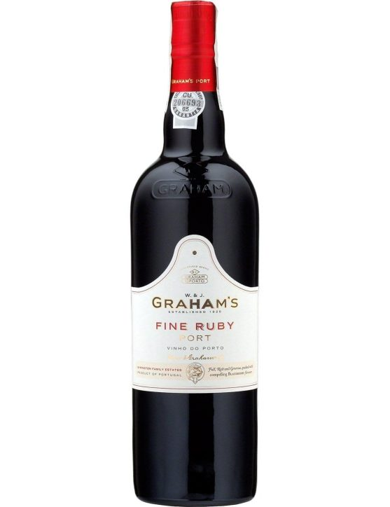 A Bottle of Graham's Fine Ruby