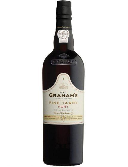 Uma Garrafa de Graham's Fine Tawny Vinho do Porto